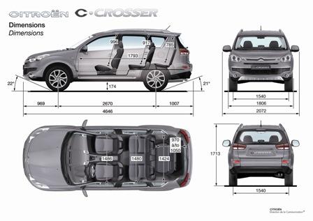 motori,auto,citroen,c-crosser,citroen c-crosser,fuoristrada,suv,suv compatto,velocita,prestazioni,motorizzazioni,allestimenti,prezzo,consumi